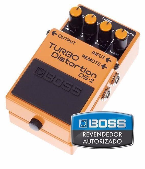 Pedal de Efeito Boss Turbo Distortion DS2 para Guitarra