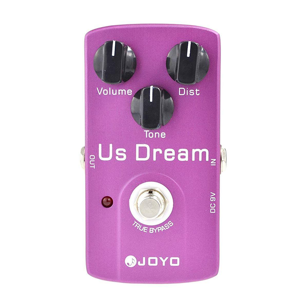 Pedal de Efeito Joyo Jf-34 Us Dream Overdrive/Distortion