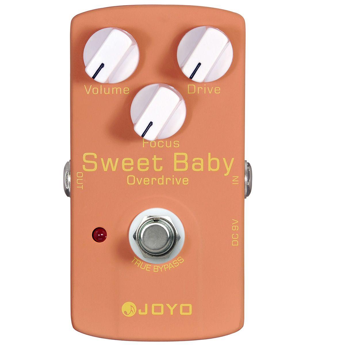 Pedal de Efeito Joyo JF-36 Sweet Baby para Guitarra