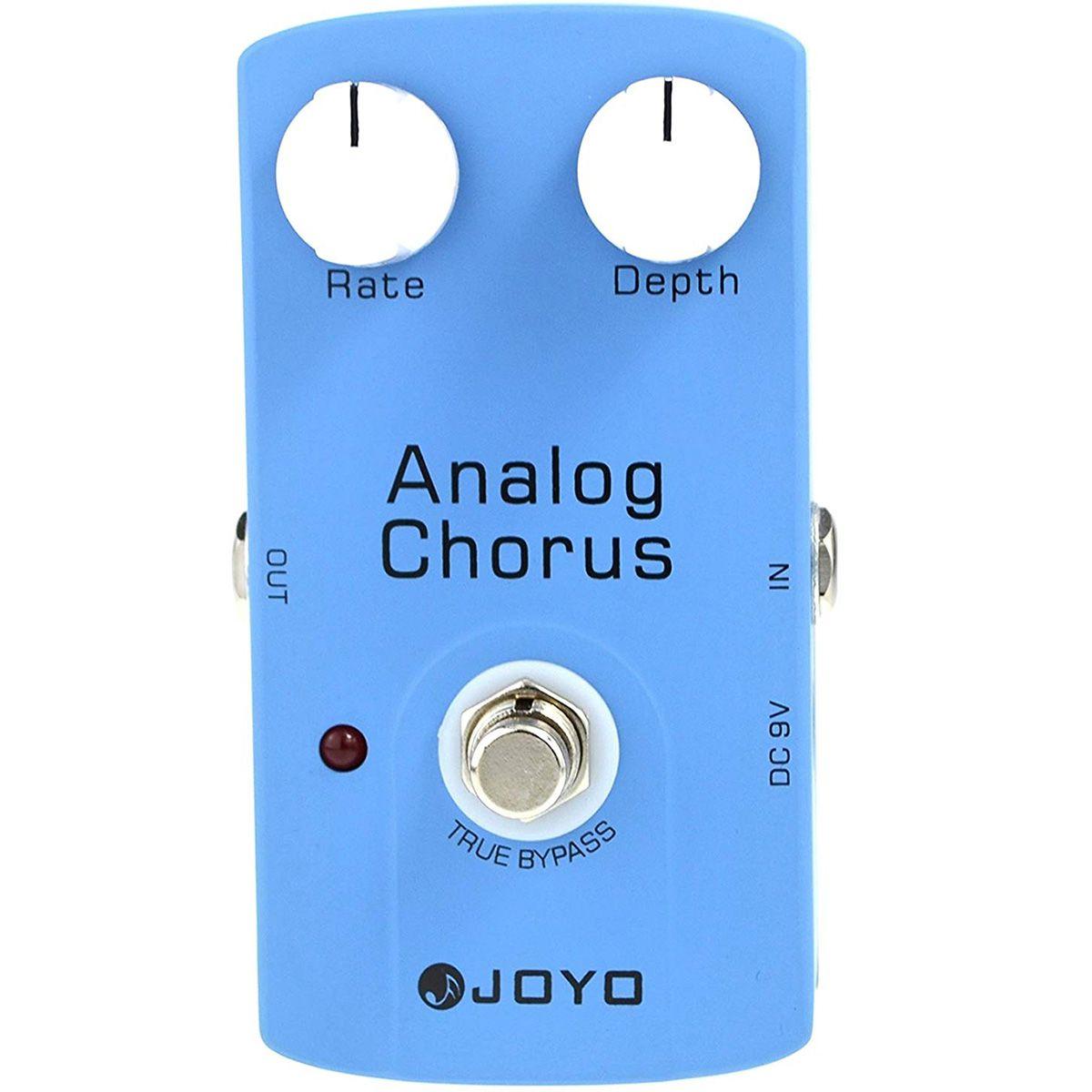 Pedal de Efeito Joyo JF-37 Analog Chorus para Guitarra