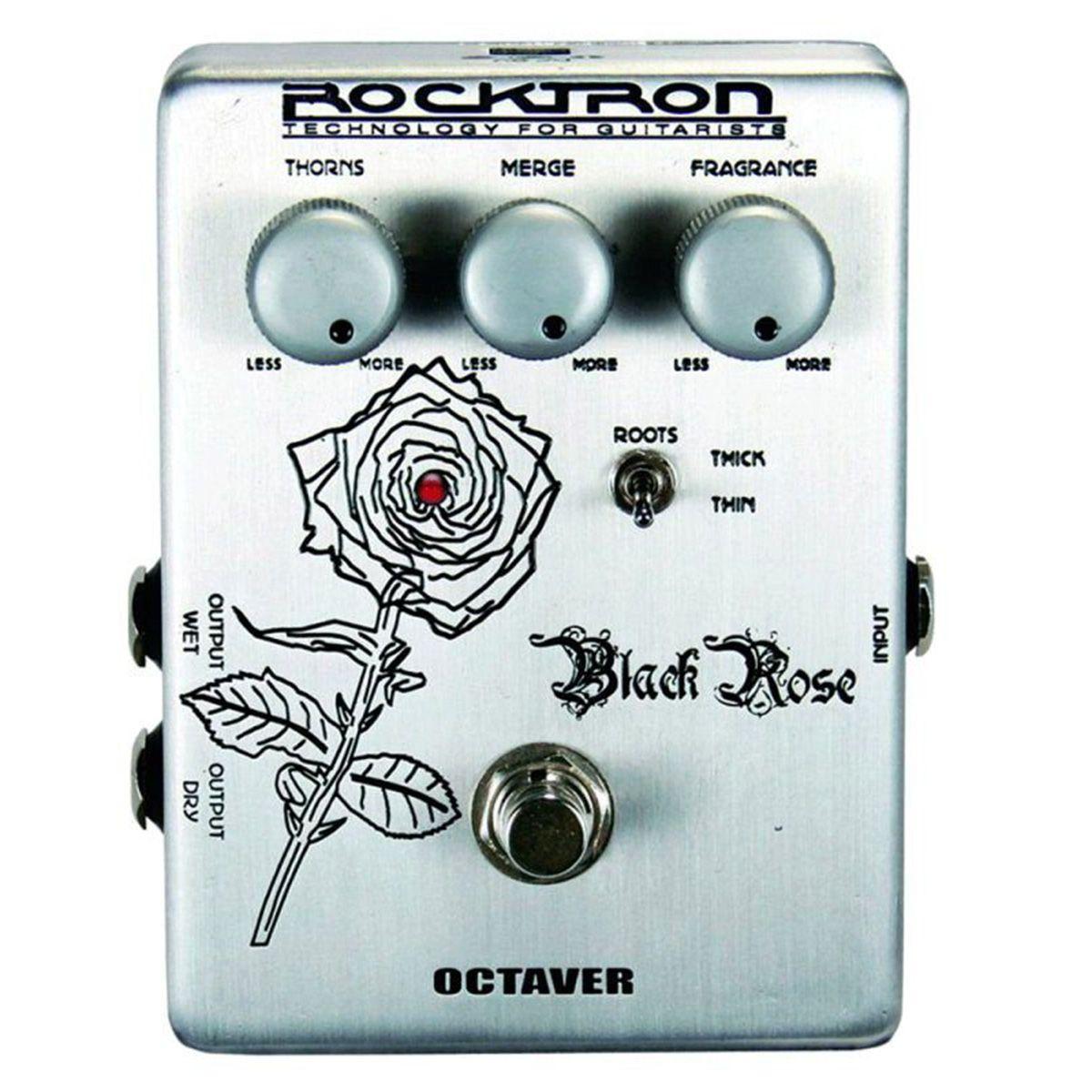 Pedal de Efeito Rocktron Black Rose Octaver