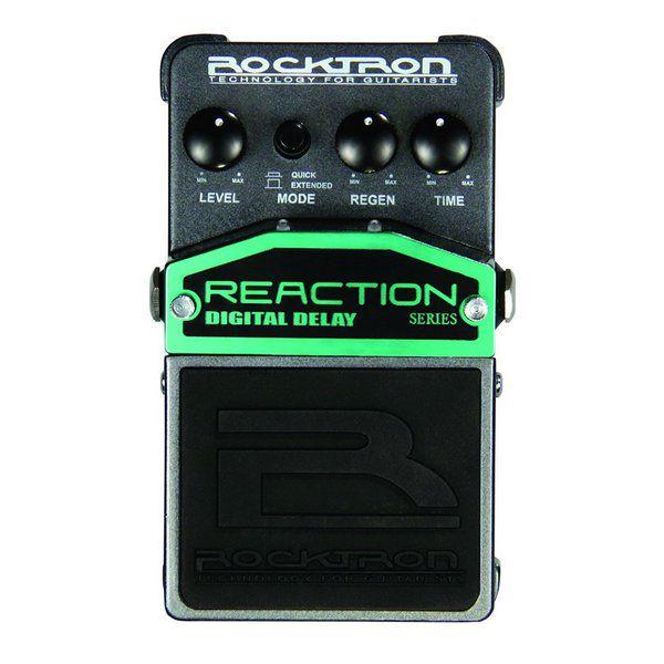 Pedal de Efeito Rocktron Reaction Digital Delay para Guitarra