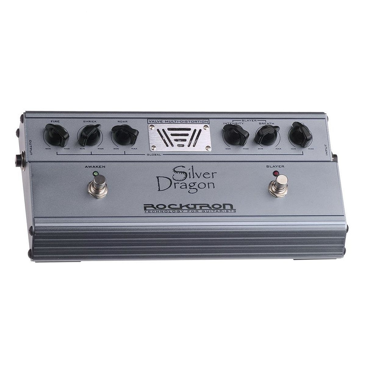 Pedal de Efeito Valvulado Rocktron Dragon Silver Distortion