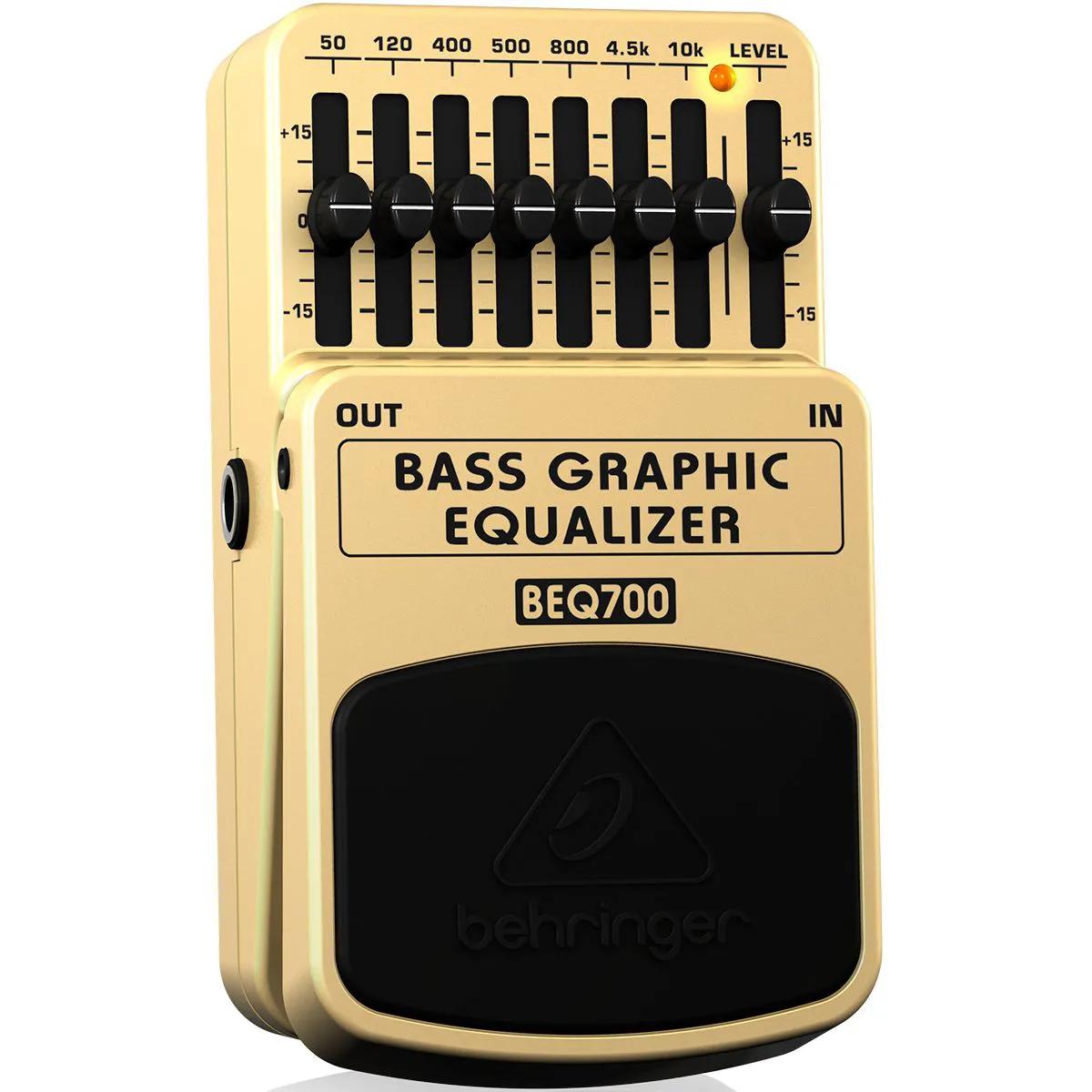 Pedal de Efeitos Behringer BEQ700 Bass Graphic Equalizer