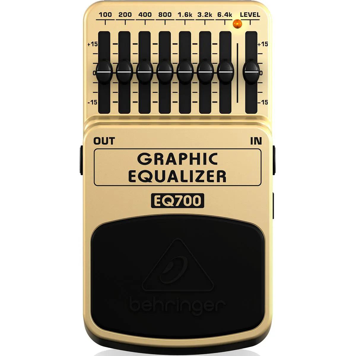 Pedal de Efeitos Behringer EQ700 Graphic Equalizer