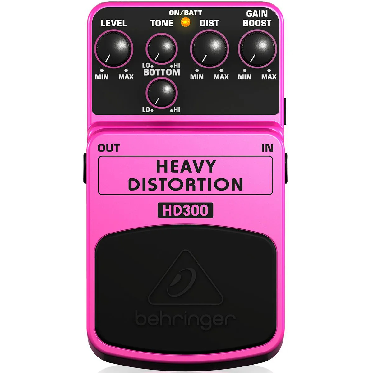 Pedal de Efeitos Behringer HD300 Heavy Distortion