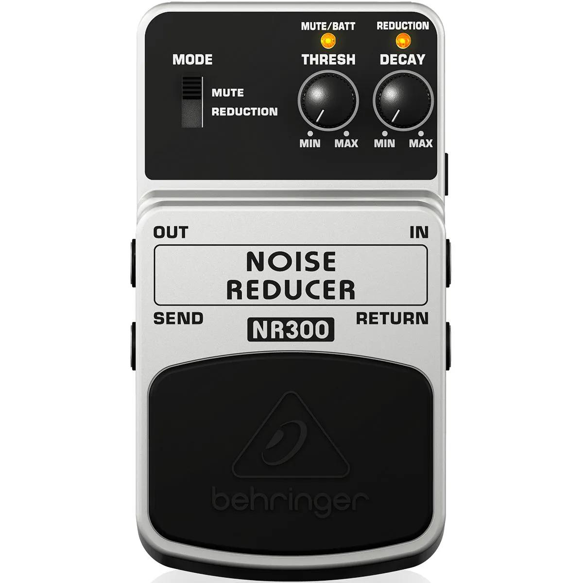 Pedal de Efeitos Behringer NR300 Noise Reducer para Guitarra