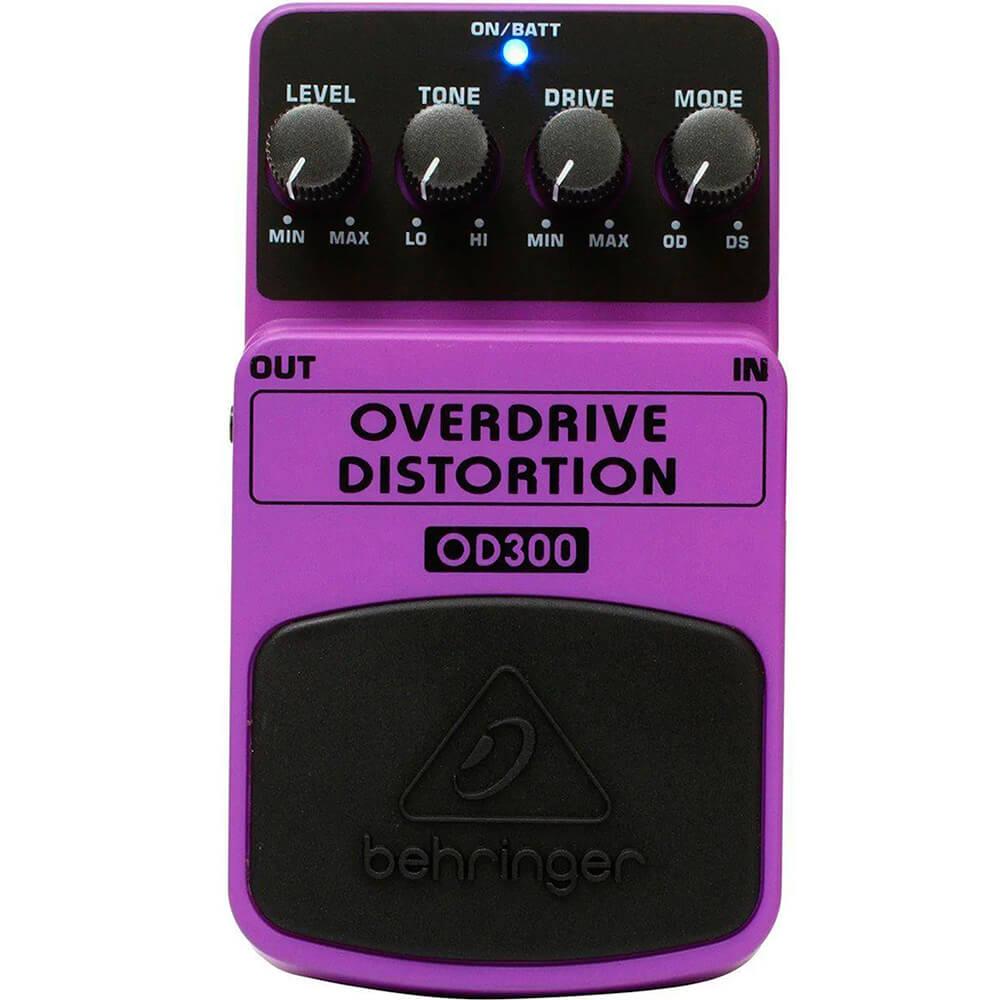 Pedal de Efeitos Behringer OD300 Overdriver Distortion