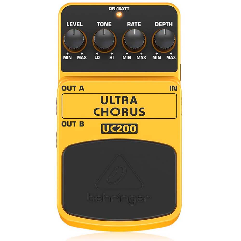 Pedal de Efeitos Behringer UC200 Ultra Chorus