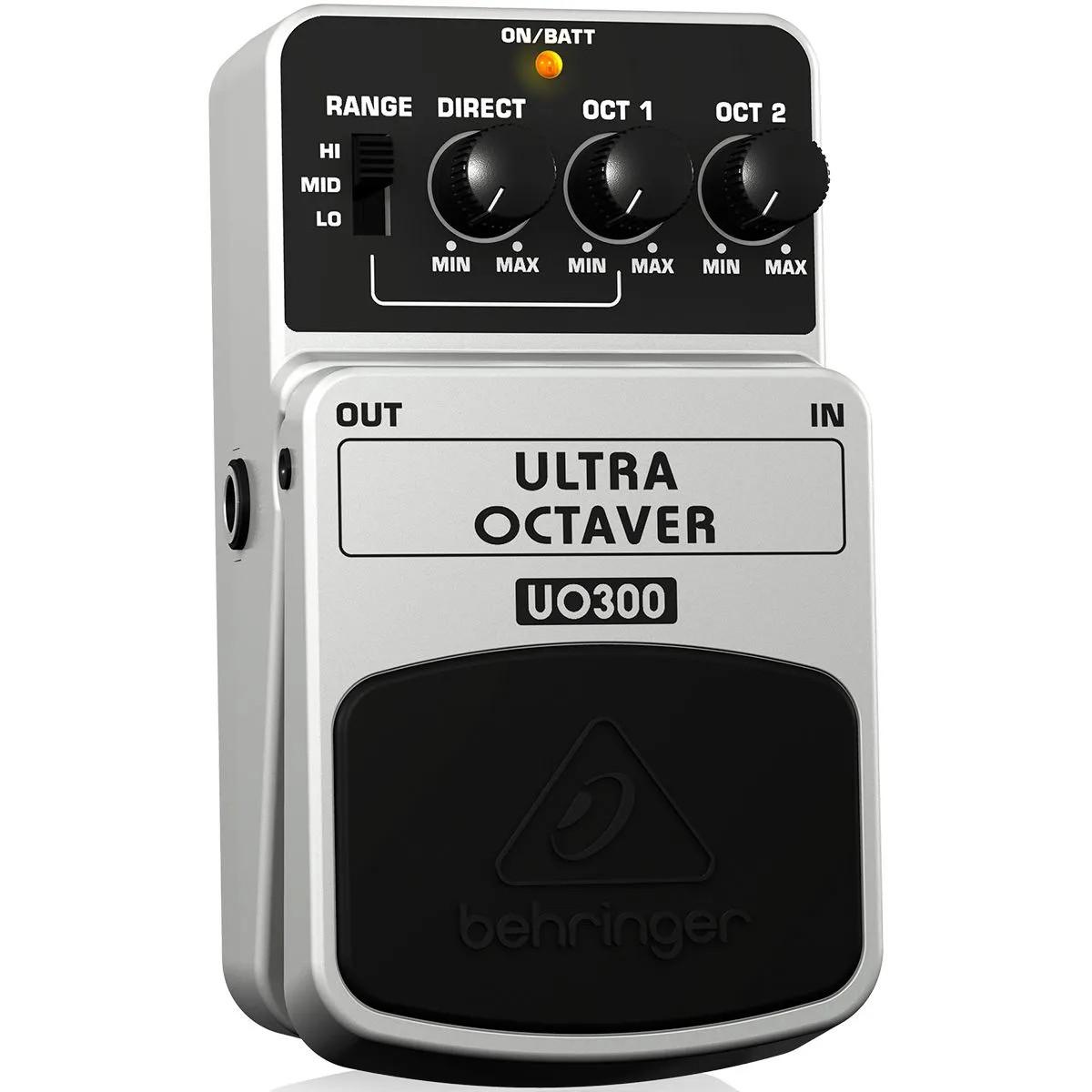 Pedal de Efeitos Behringer UO300 Ultra Octaver para Guitarra