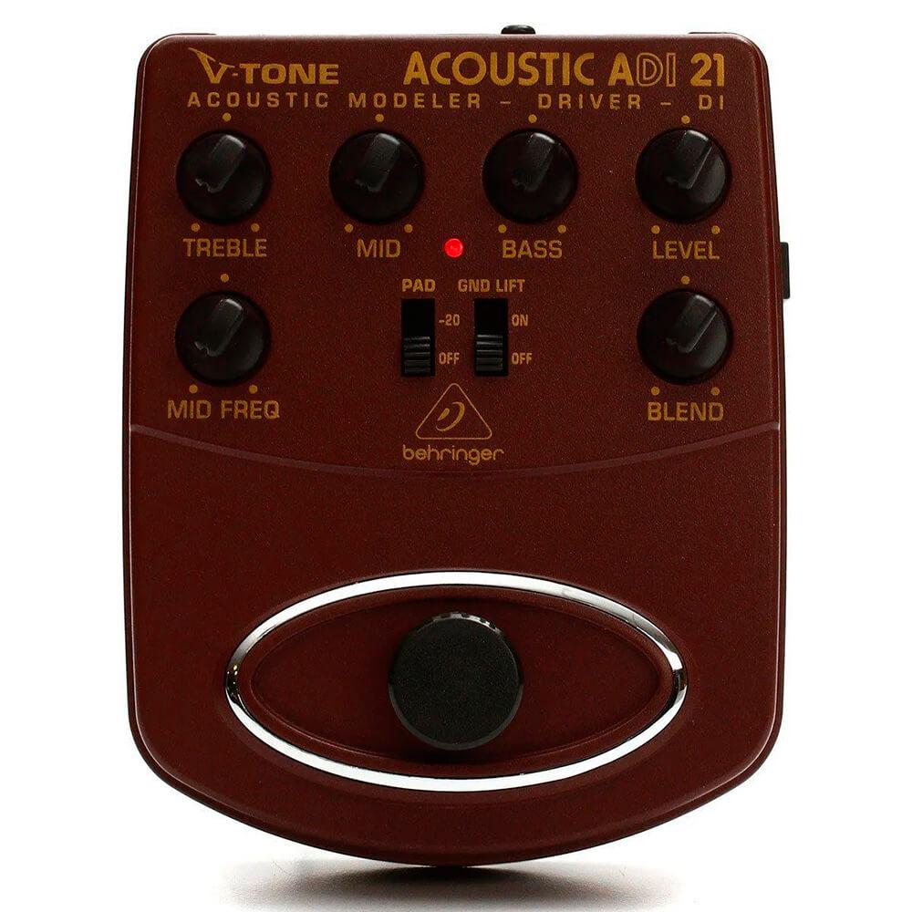 Pedal de Efeitos Behringer V-Tone Acoustic Driver DI ADI21