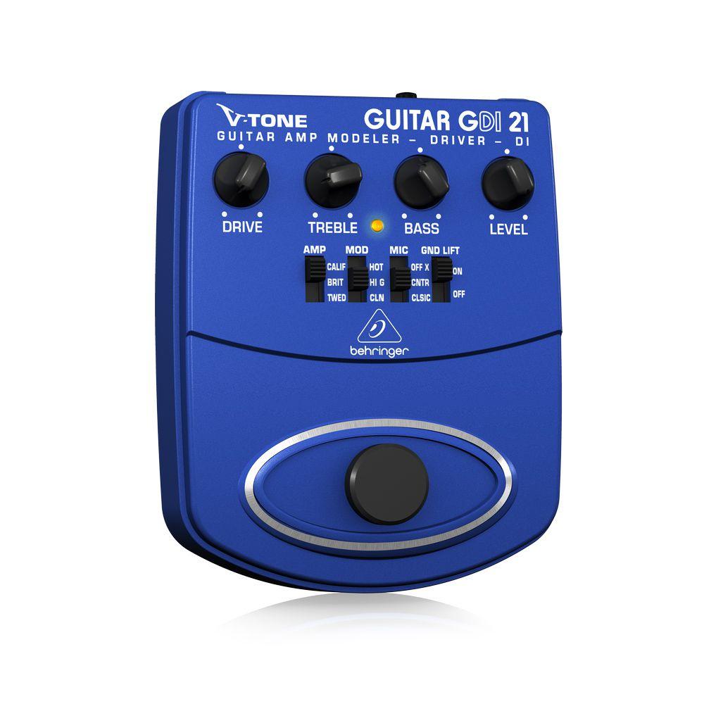 Pedal de Efeitos Behringer V-Tone Guitar Driver DI GDI21