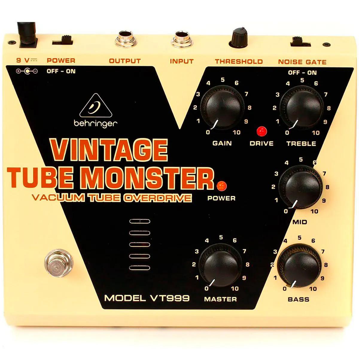Pedal de Efeitos Behringer VT999 Vintage Tube Monster