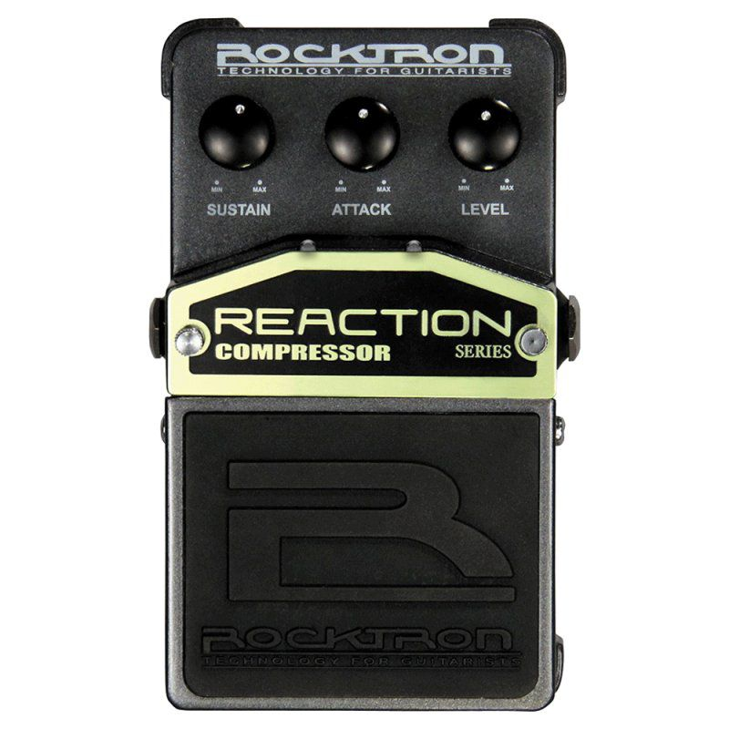 Pedal de Efeitos Rocktron Reaction Compressor para Guitarra