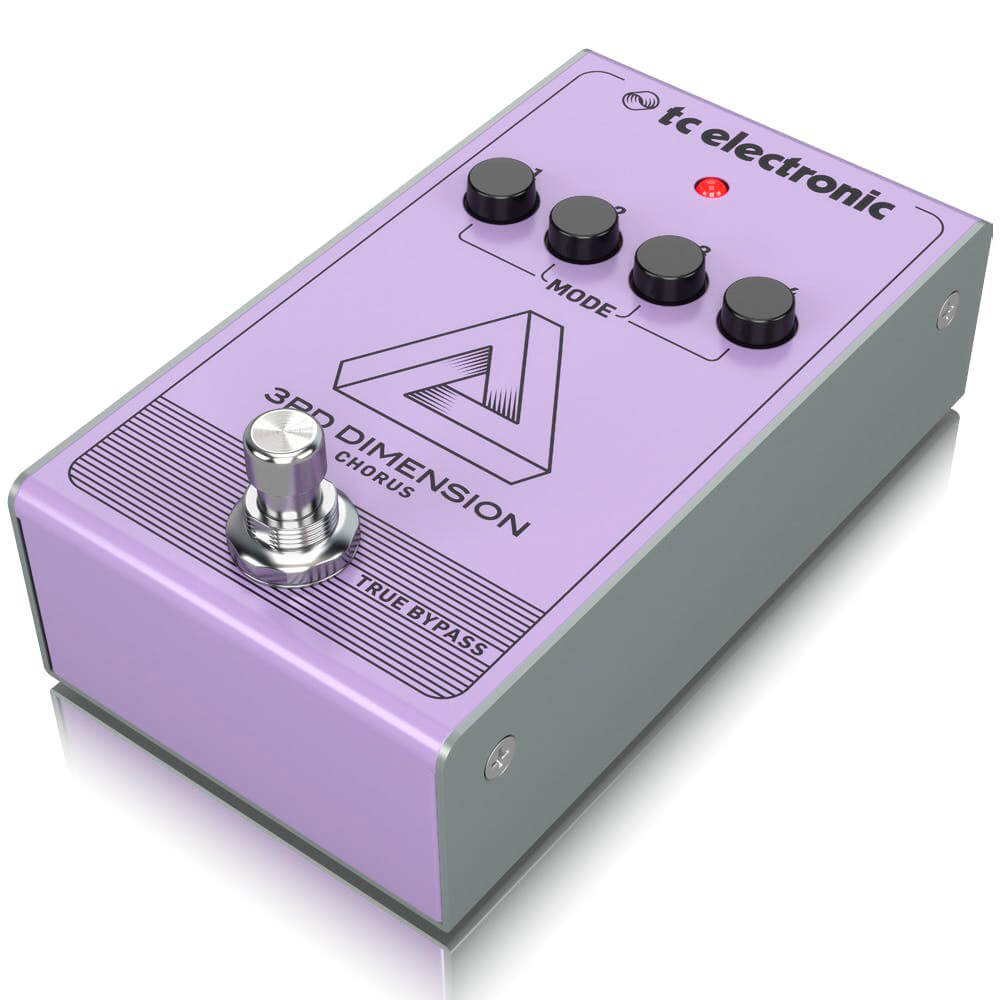 Pedal de Efeitos TC Electronic 3rD Dimension Chorus