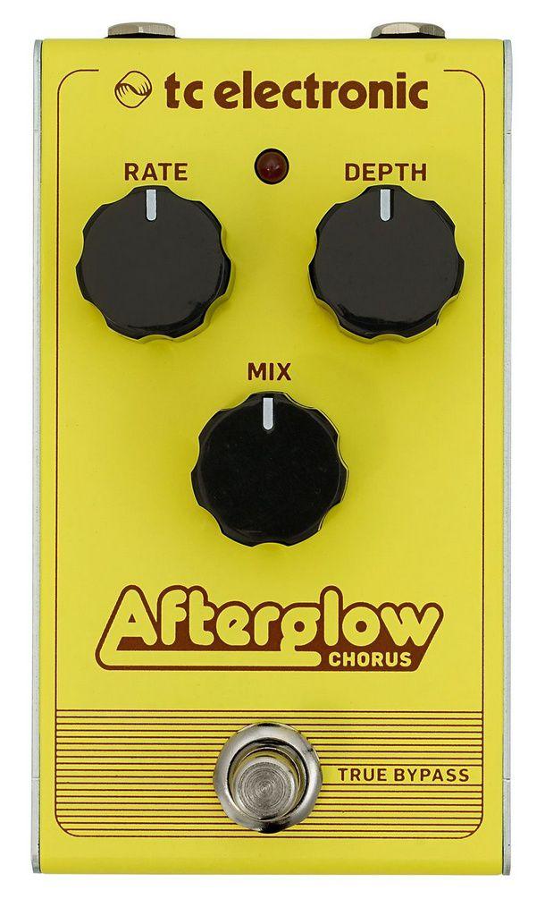 Pedal de Efeitos TC Electronic Afterglow Chorus