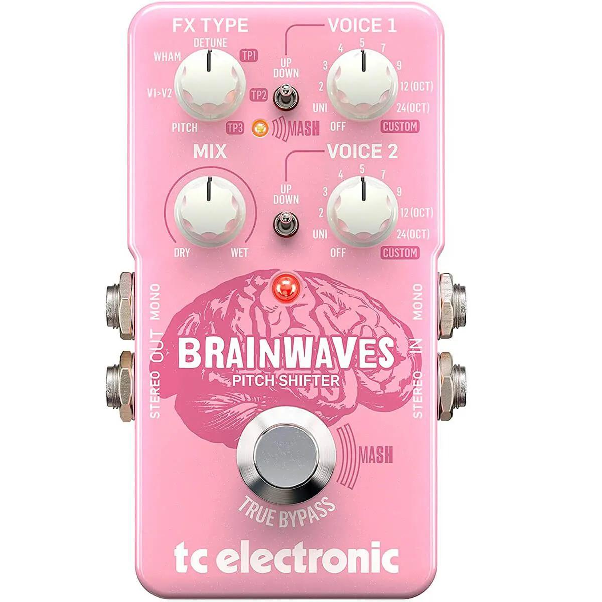 Pedal de Efeitos Tc Electronic Brainwaves Pith Shifter