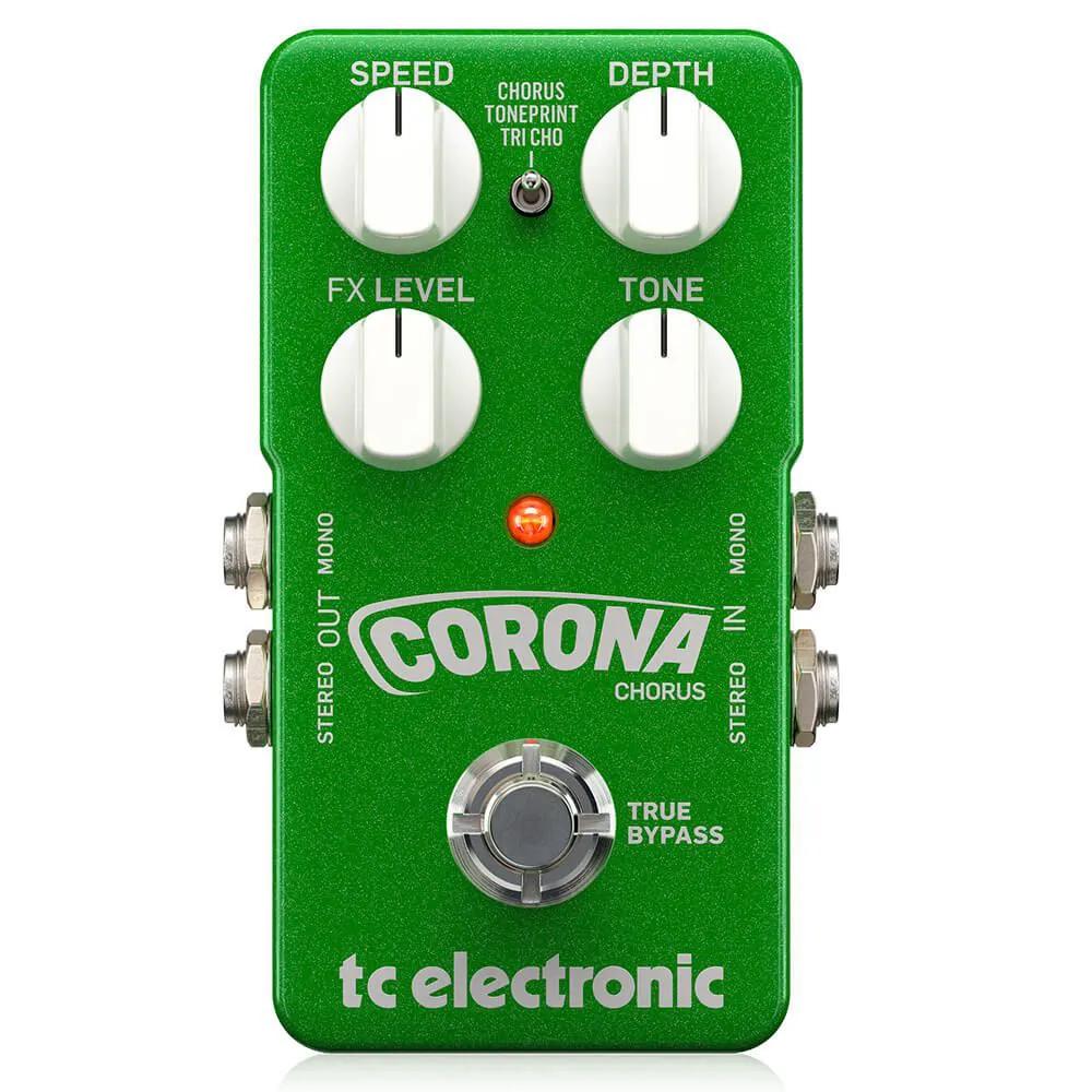 Pedal de Efeitos TC Electronic Corona Chorus