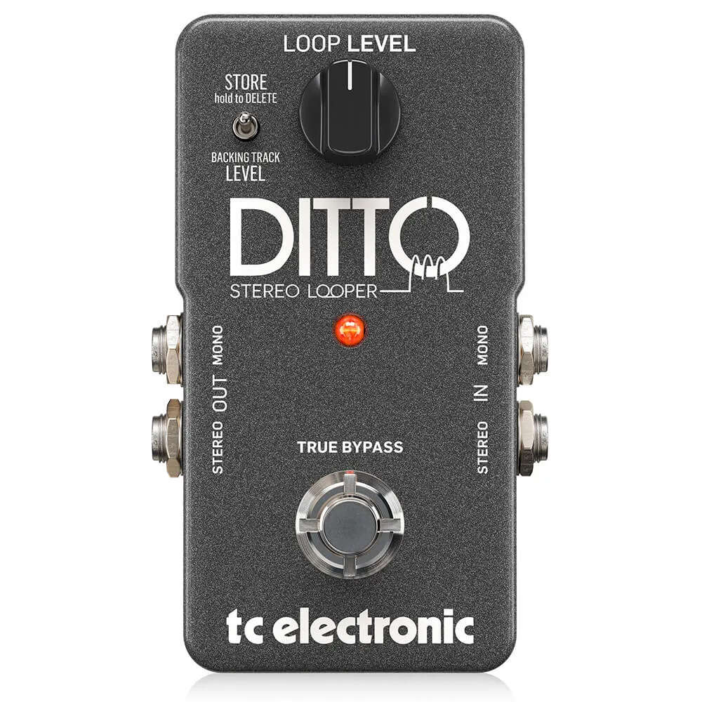 Pedal de Efeitos TC Electronic Ditto Stereo Looper