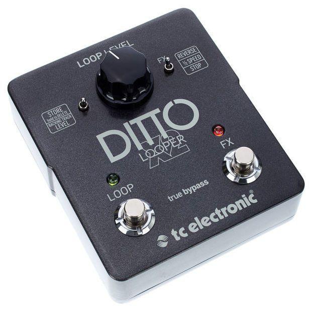 Pedal de Efeitos TC Electronic Ditto X2 Looper