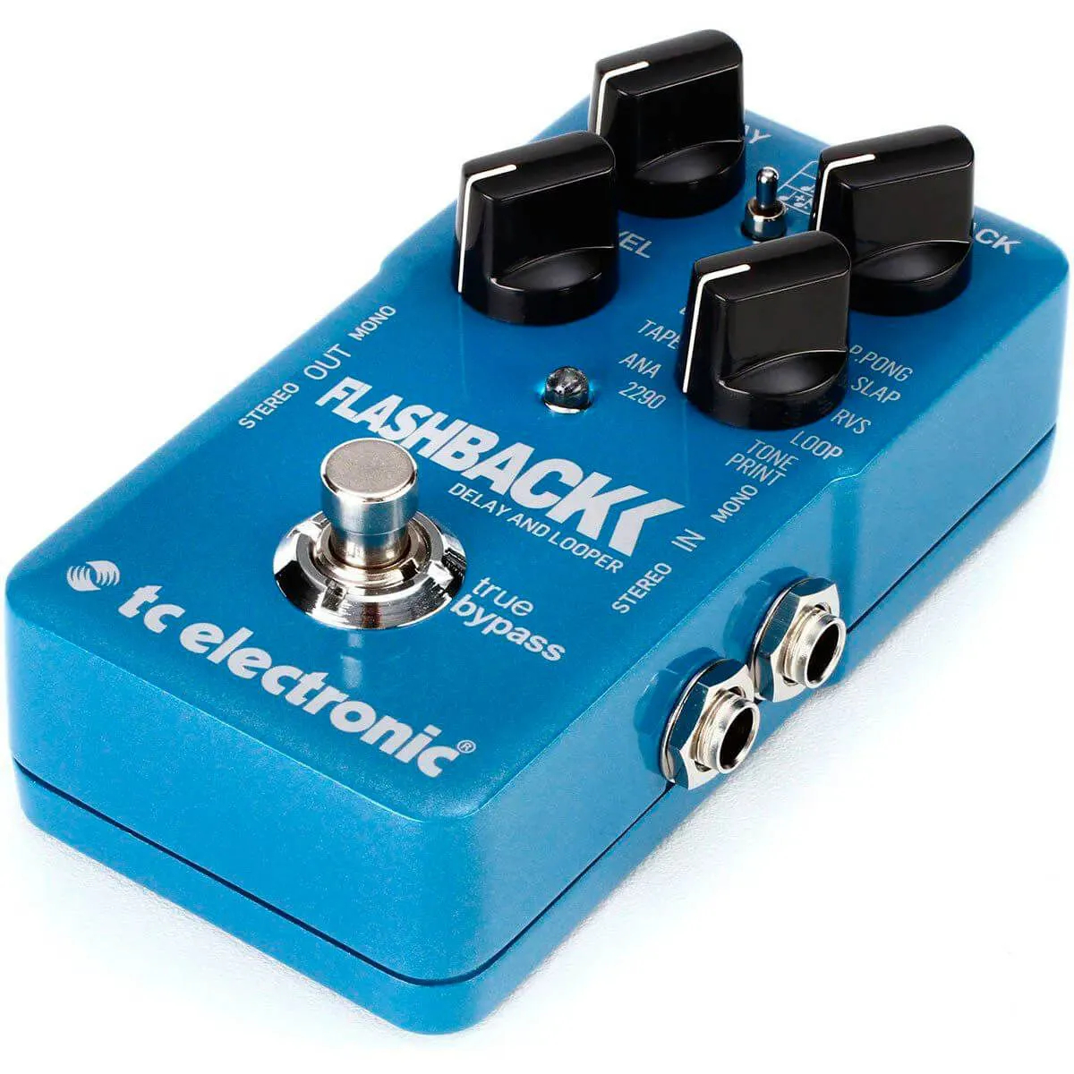 Pedal de Efeitos Tc Electronic Flashback Delay And Looper