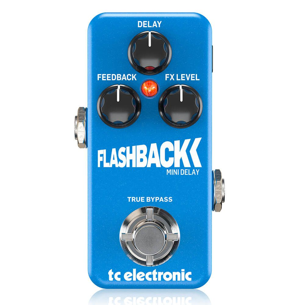 Pedal de Efeitos TC Electronic Flashback Mini Delay