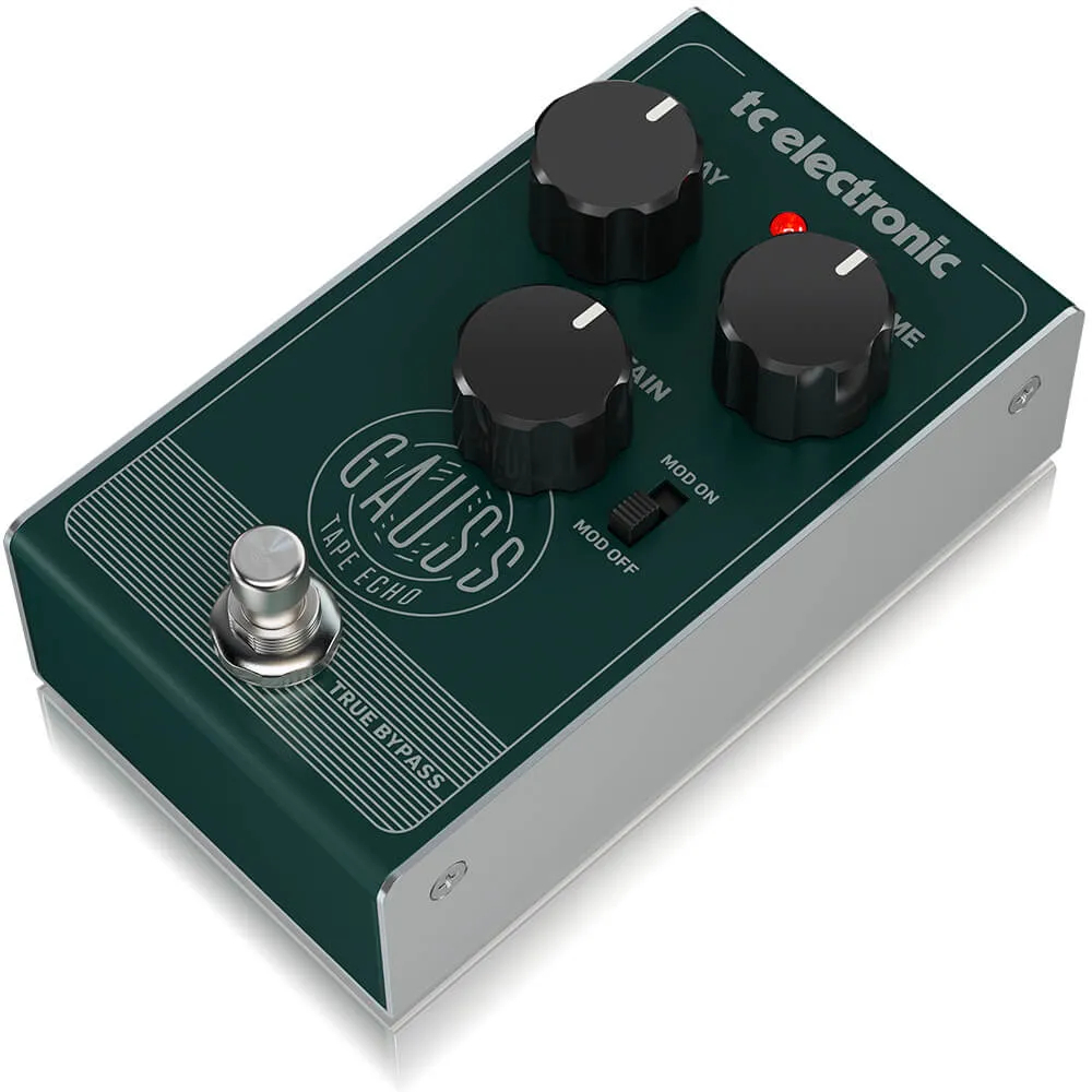 Pedal de Efeitos TC Electronic Gauss Tape Echo