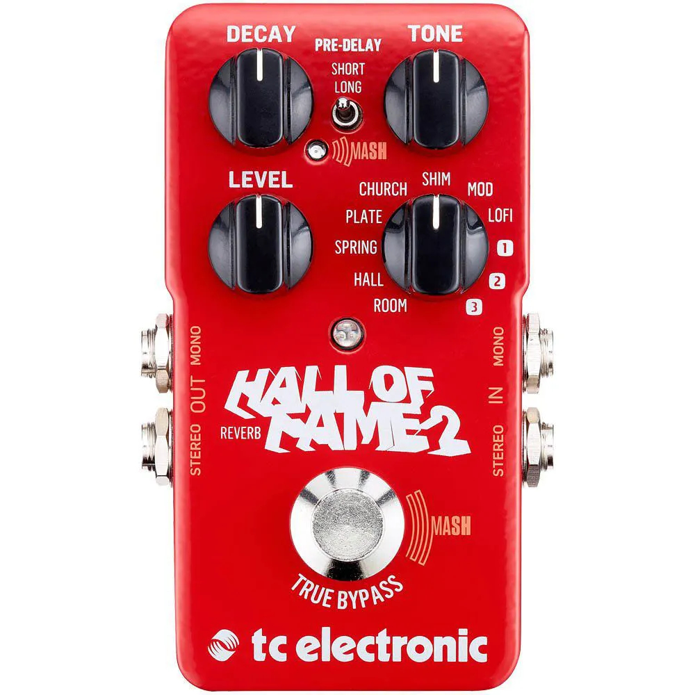 Pedal de Efeitos TC Electronic Hall Of Fame Reverb 2