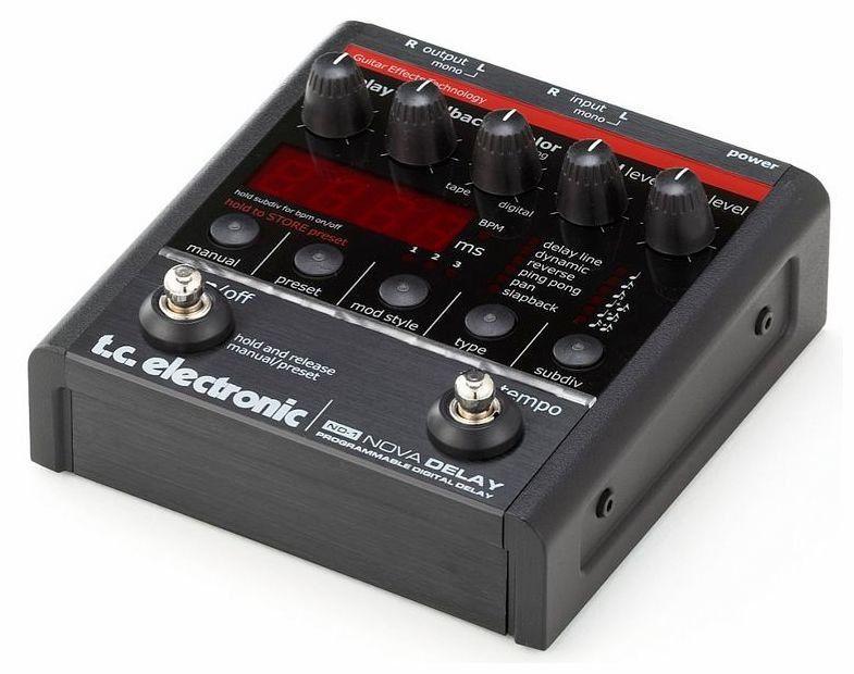 Pedal de Efeitos TC Electronic ND 1 Nova Delay
