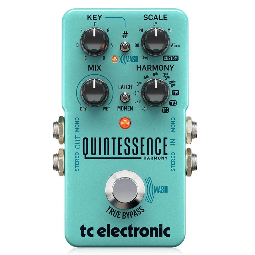 Pedal de Efeitos TC Electronic Quintessence Harmonizer