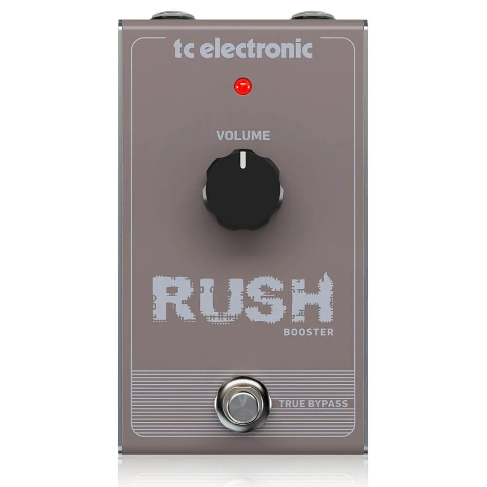Pedal de Efeitos TC Electronic Rush Booster Clean Boost