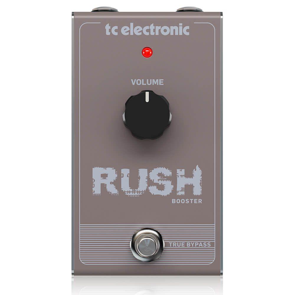 Pedal de Efeitos TC Electronic Rush Booster Clean Boost