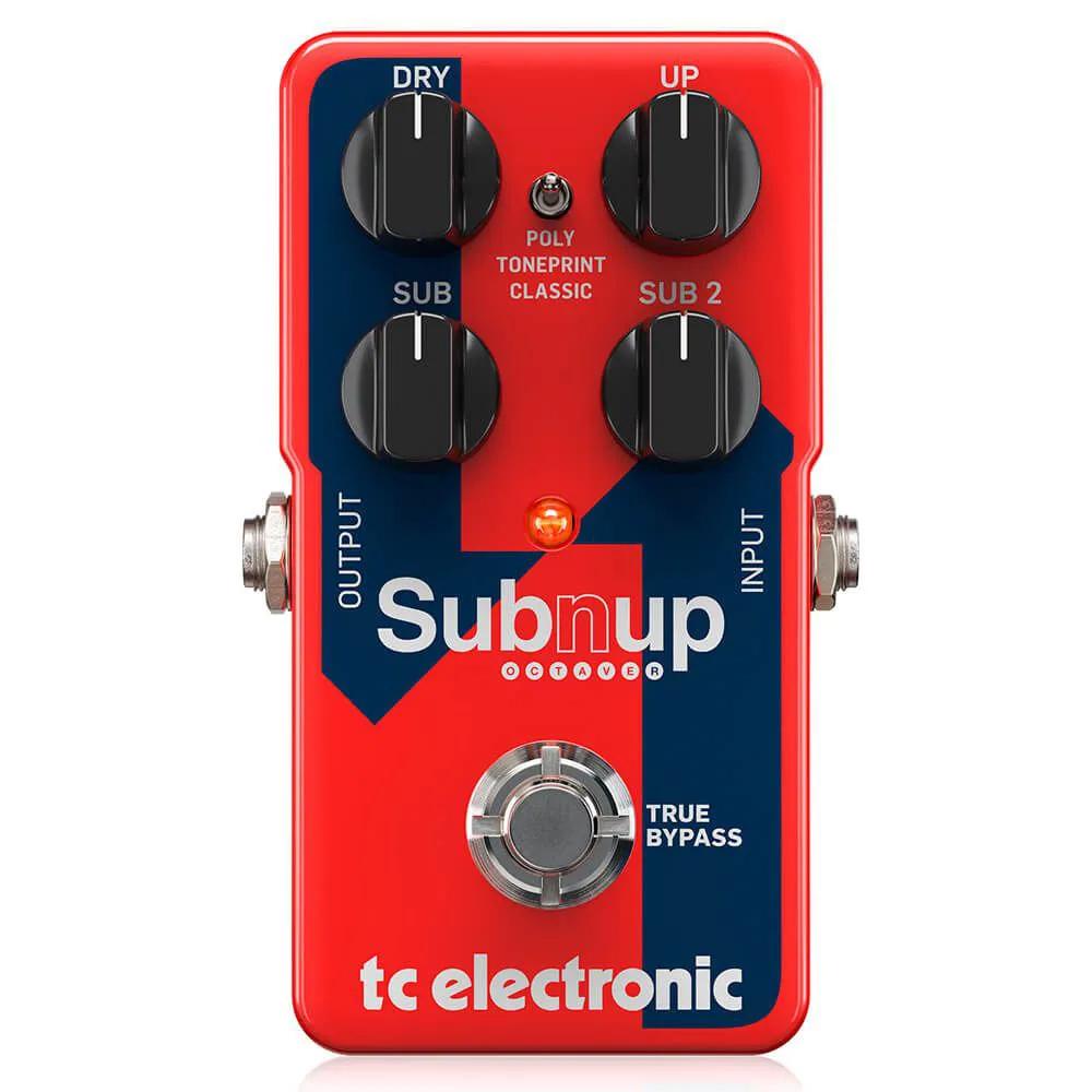 Pedal de Efeitos TC Electronic Sub N Up Octaver Oitavador