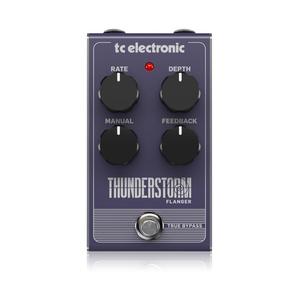 Pedal de Efeitos TC Electronic Thunderstorm Flanger