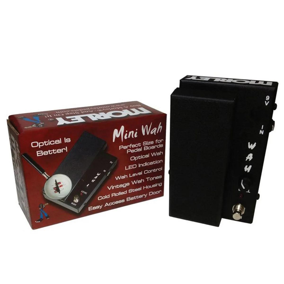 Pedal De Expressão Morley Mini Wah Mmw Para Guitarra
