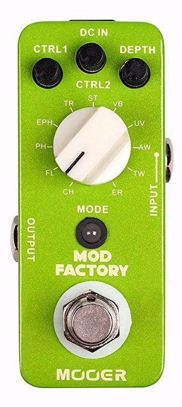 Pedal de Modulação Mooer Mod Factory 11 Efeitos