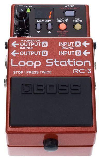 Pedal de Repetição Boss Loop Station RC3