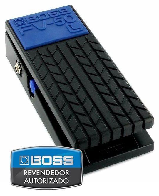 Pedal de Volume e Expressão Boss FV50L para Guitarra