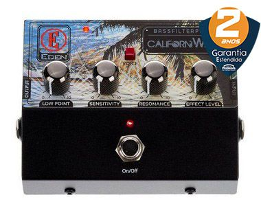 Pedal Eden CaliforniWAH Bass Filter Auto Wah