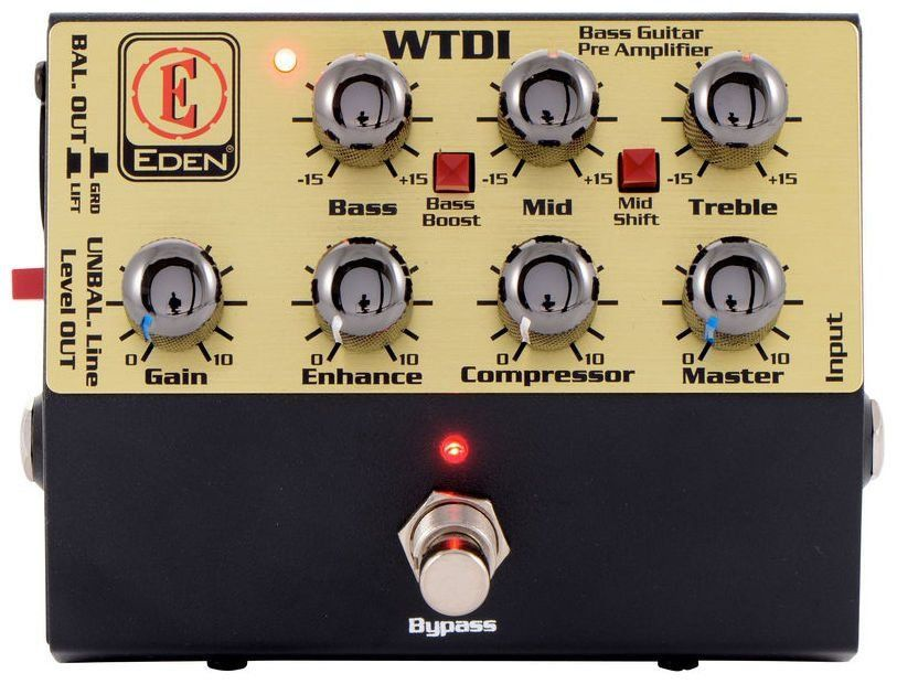 Pedal Eden WTDI World Tour Direct Box Pre Amp
