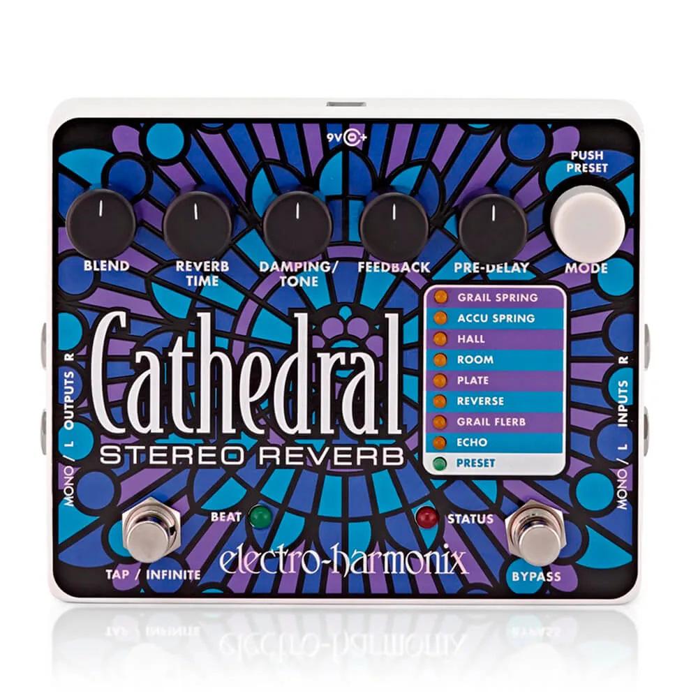 Pedal Electro-Harmonix Cathedral Stereo Reverb
