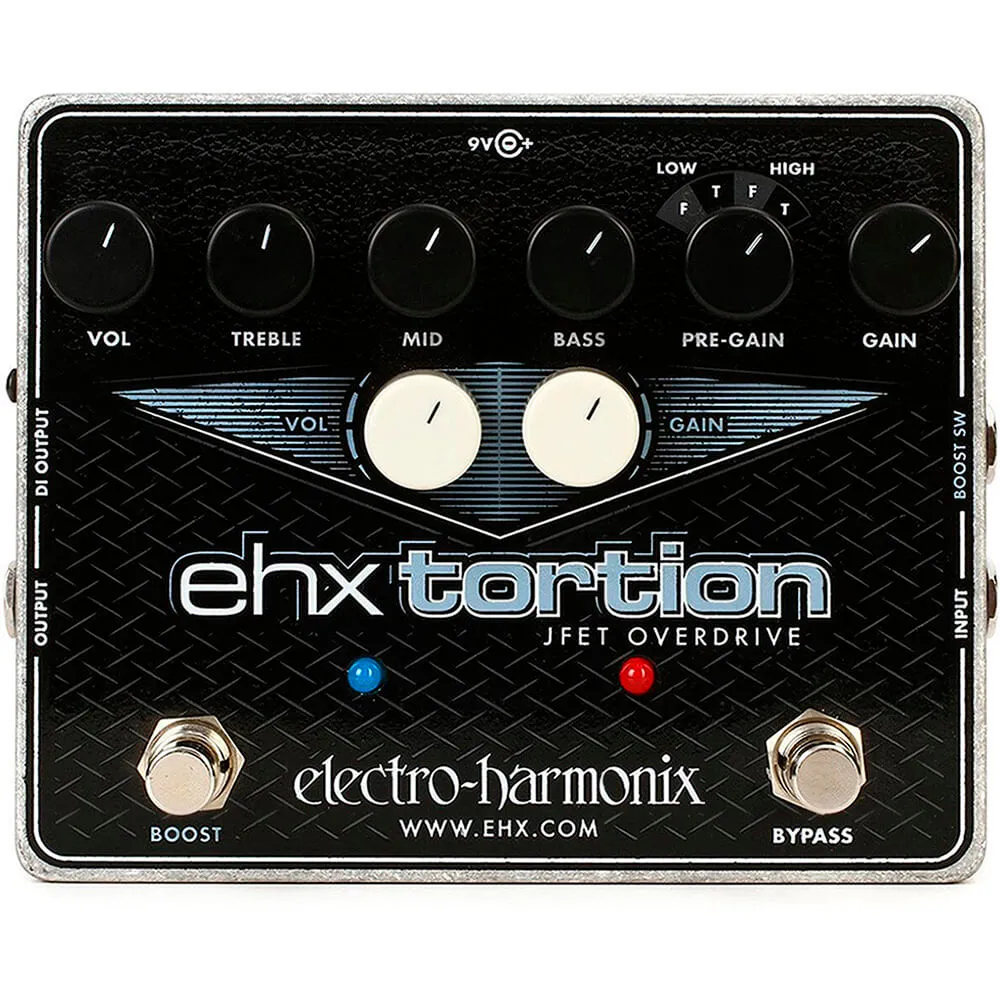 Pedal Electro-Harmonix Ehx Tortion Jfet Overdrive Distortion