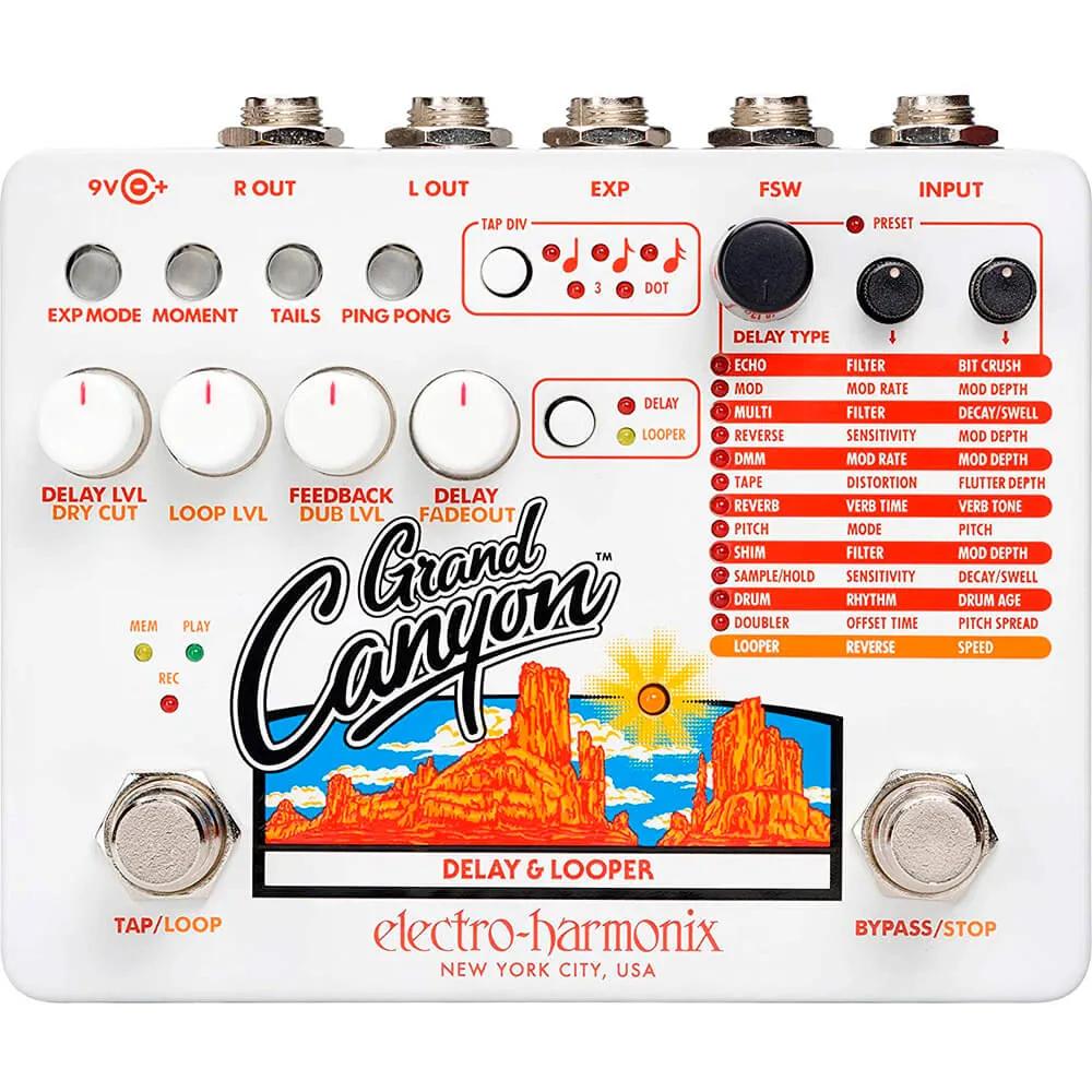 Pedal Electro-Harmonix Grand Canyon Delay e Looper