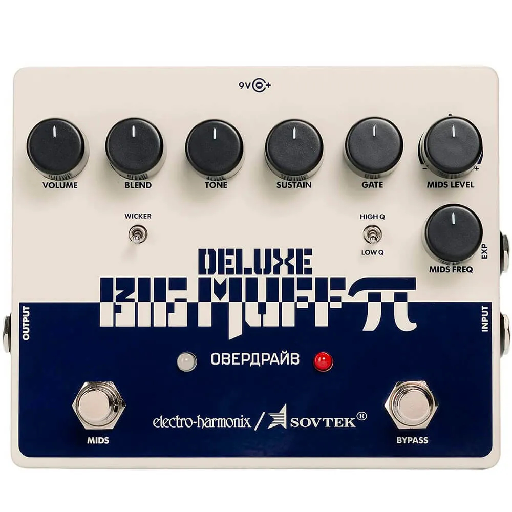 Pedal Electro-Harmonix Sovtek Deluxe Big Muff Pi Fuzz