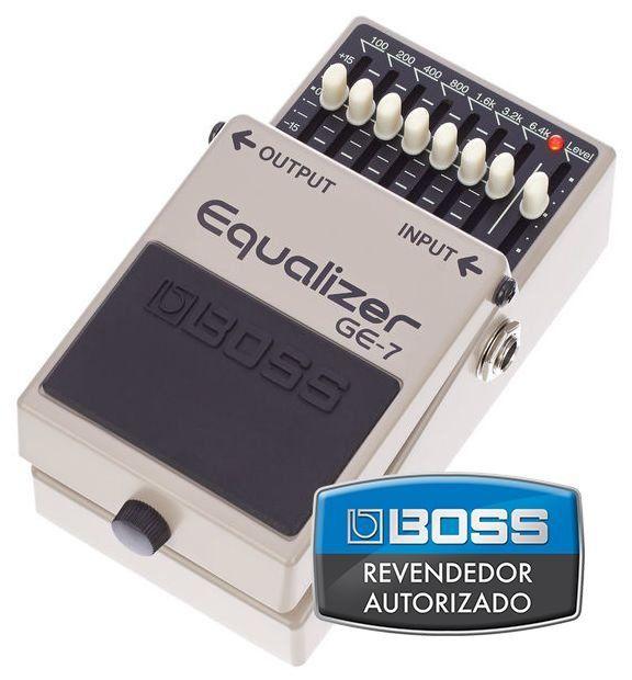 Pedal Equalizador Boss Equalizer GE7 para Guitarra