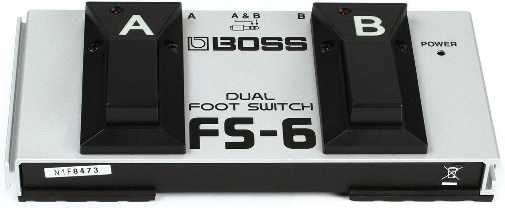 Pedal Footswitch Boss FS6 Dual Foot