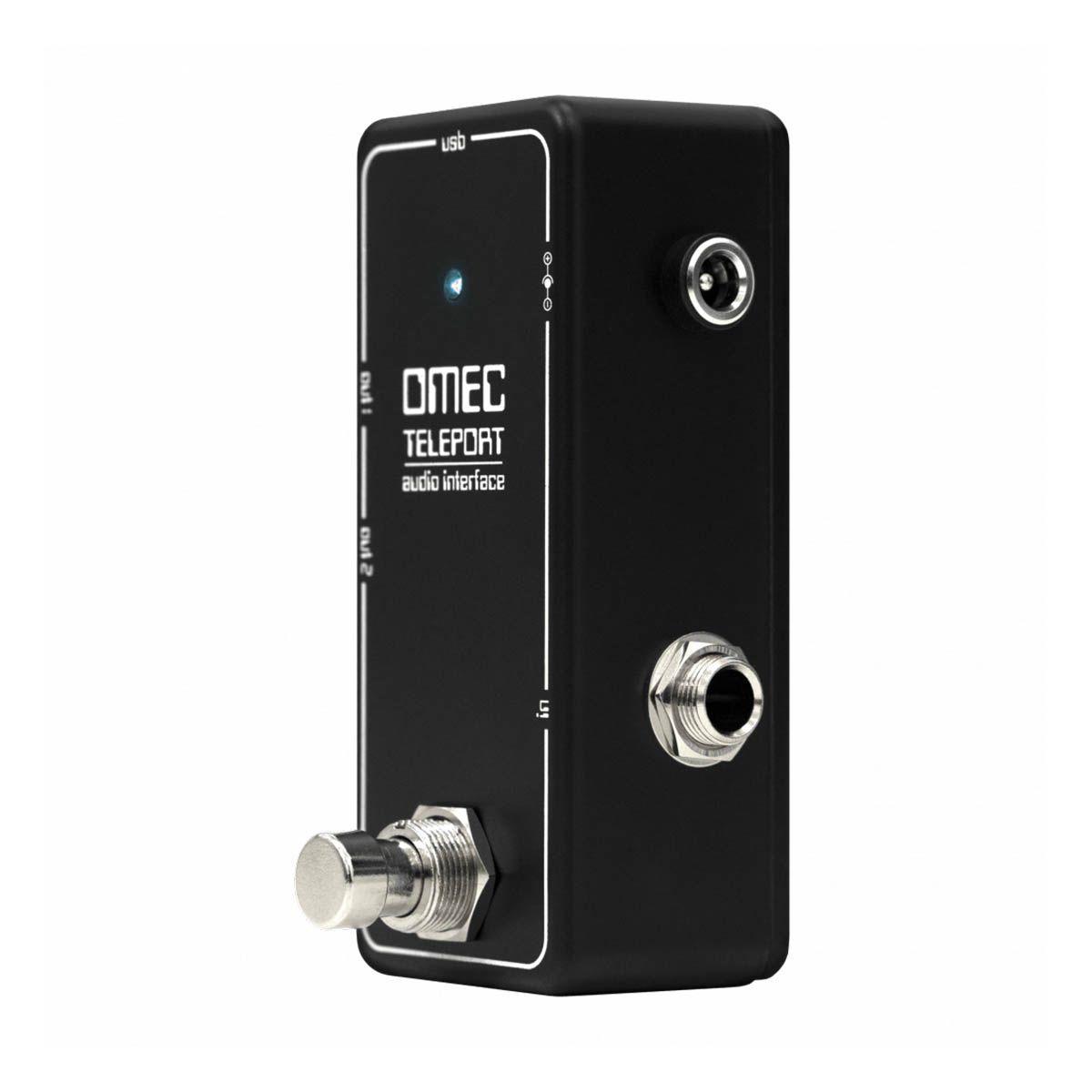 Pedal Interface Orange OMEC Teleport para Guitarra