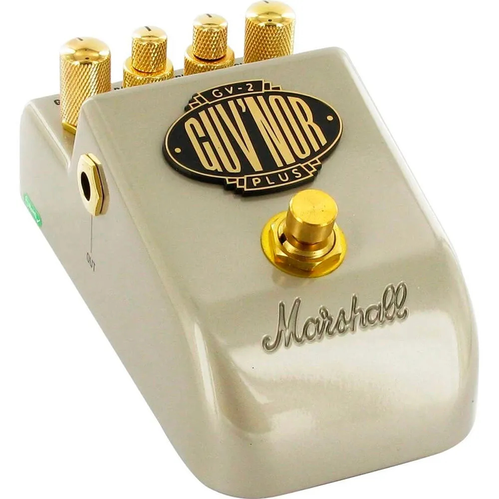 Pedal Marshall GV-2 Guv'nor Plus Classic Overdrive