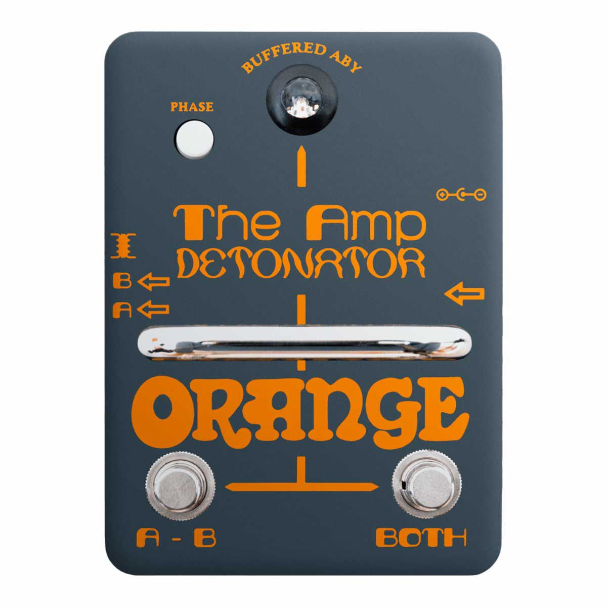 Pedal Orange Switch Amp Detonator Buffered ABY