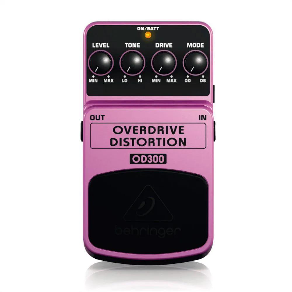 Pedal de Efeitos Behringer OD300 Distortion para Guitarra